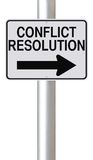 conflict-resolution-modified-one-way-street-sign-indicating-38632546