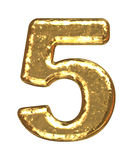 golden-font-number-five-6577565